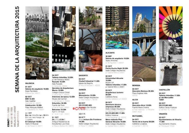 arranca la semana de la arquitectura 2015