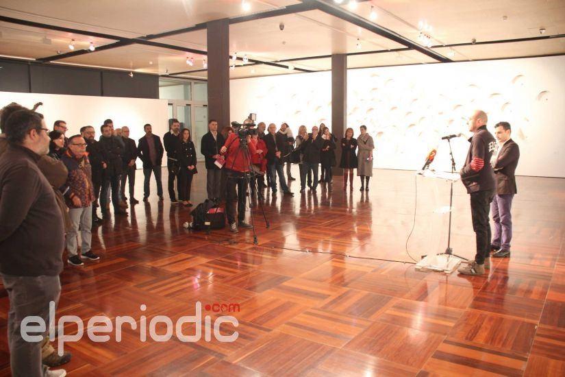El EMAT Ha Acogido La Inauguracin De Exposicin Del Escultor Murciano Lid Rico Titulada A Partir Cuantos Nudos Puedo Navegar