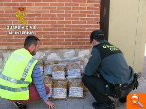 La Guardia Civil interviene 10 kg de tabaco en Vinarós - (foto 1)