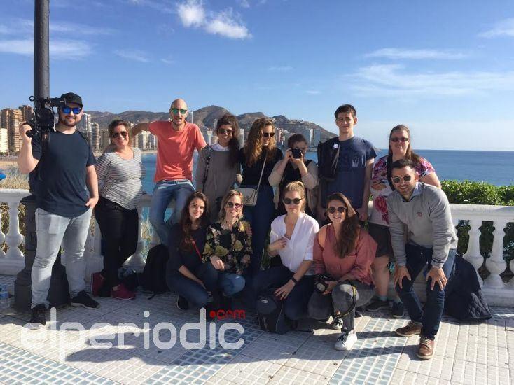Benidorm recibe a varios influencers de holanda for Oficina turismo benidorm