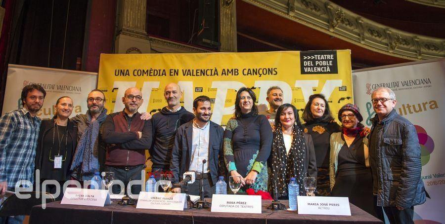 "f3158d18d La comedia musical en valenciano ""Happy End"" lleva al Teatro Principal la  obra de"