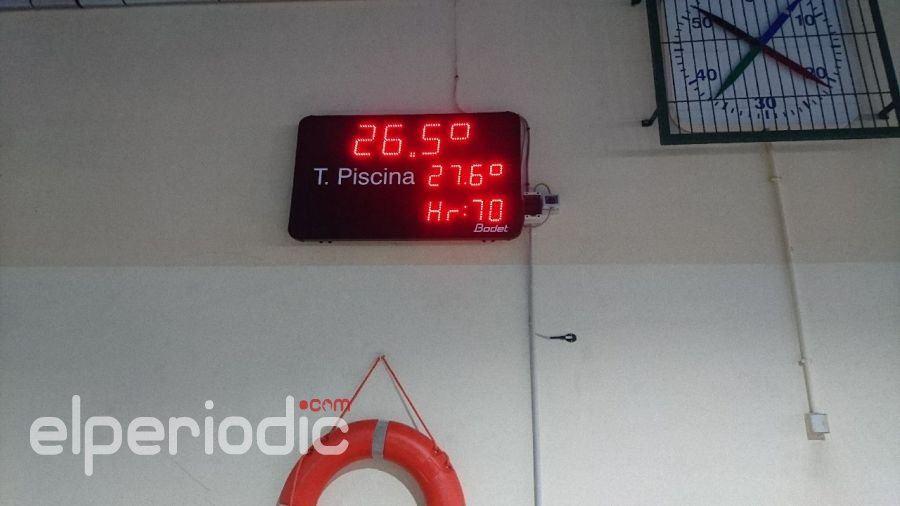 Deportes instala nuevos relojes en las piscinas for Piscinas municipales elche