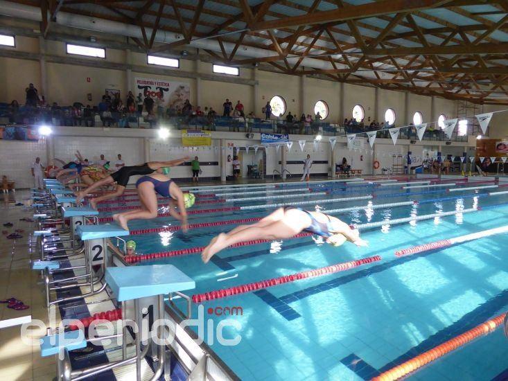Las promesas de la nataci n compitieron en la piscina de for Piscina municipal camilo cano