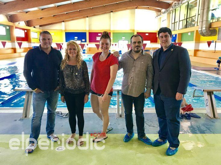 La piscina municipal acoge alumnos para realizar pr cticas for Piscina nules