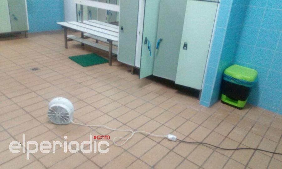 Broch el cuatripartito suple con un calefactor casero la for Calefactor para piscina