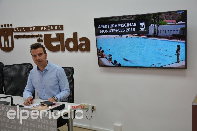Este s bado se abren piscinas municipales de san crisp n for Piscinas municipales elche