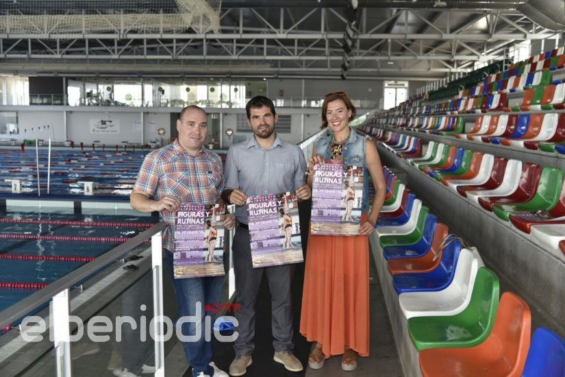 El campeonato de nataci n art stica llenar de 39 figuras for Piscina olimpica castellon