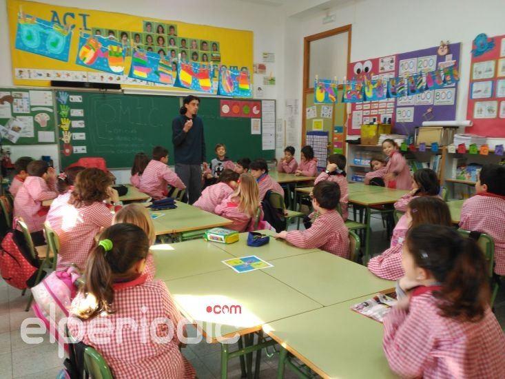 Cerca de escolares participan en la campa a for Oficina del consumidor benidorm