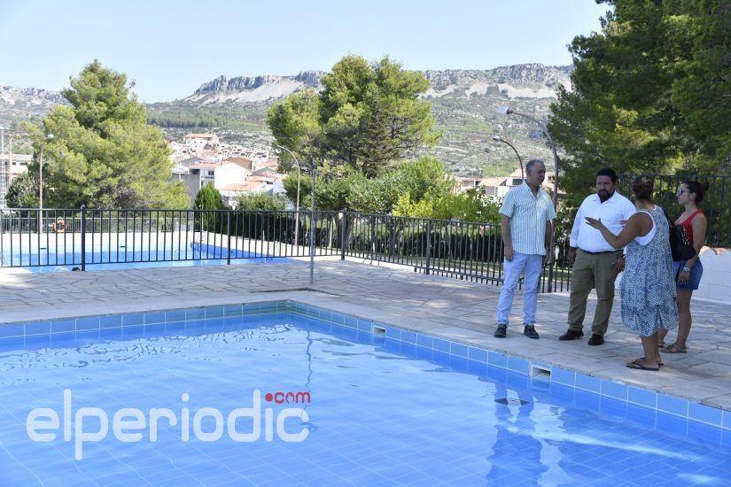La diputaci n adecua la piscina municipal de xert for Piscina municipal castellon