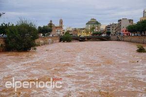 Una fuerte gota fría trae lluvias torrenciales a la Comunitat a partir del jueves